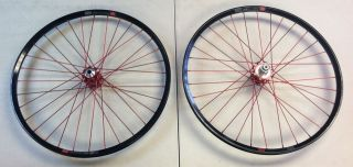 NEW Industry Nine AM Wheelset 26 I9 red bike wheels rims wheel set I