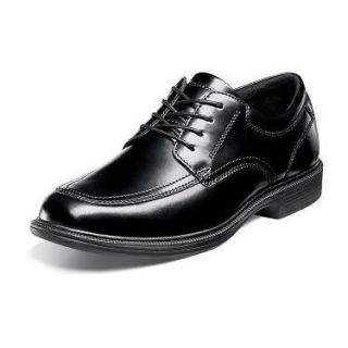 NUNN BUSH Mens Bourbon St Casual Dress Oxford Shoes Black Leather