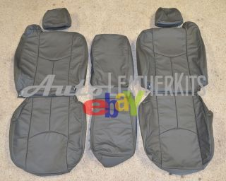 2005   2007 Chevrolet Silverado Xtra Cab Leather Seat Covers KATZKIN