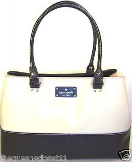 KATE SPADE Elena Berekeley Tote Hand Bag purse NWT $428 Porcelain