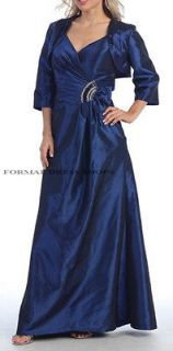 NEW MOTHER OF THE BRIDE GROOM LONG DRESS FORMAL CHURCH EVENING GOWN