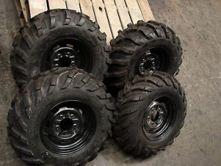 JOHN DEERE GATOR 5 lug STEEL WHEELS TIRES 26X9.00 12 & 26X11.00 12