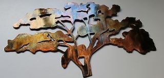 the old oak tree metal wall art accent decor time