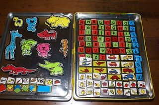 Magnetic Games Numbers Animals Travel Carry Case Bookworks Letters