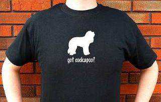 got cockapoo cockapoos dog graphic t shirt tee more options