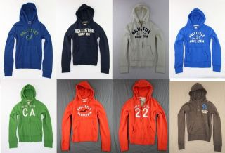 Hollister Mens Hoodie Sweatshirt Sweater Multi Color/Size by