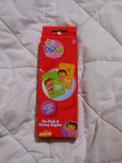 new dora the explorer card games go fish crazy eights