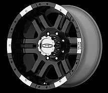 17 inch FORD 8 LUG 8x170 TRUCK Black RIMS WHEELS F250 F350 SUPERDUTY