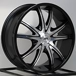 Black Rims Wheels Ford Truck F F150 Expedition Lincoln Navigator 6x135