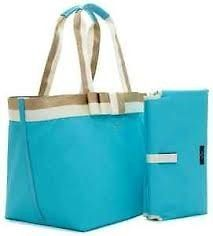 KATE SPADE Barrow Street Anabel Baby Diaper Bag Tote Adriatic Aqua