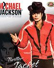 Adult Red Michael Jackson Thriller Jacket ( SIZE   Medium )