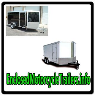 Enclosed Motorcycle Trailers.info WEB DOMAIN FOR SALE/BIKE TRANSPORT