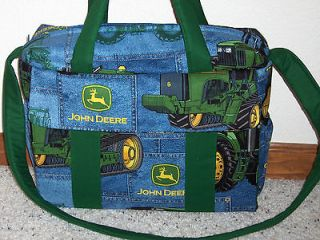 Newly listed John Deere handmade EMIJANE Diaper Bag with chg pad