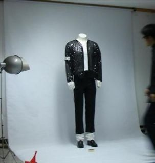 michael jackson billie jean jacket pant glove sock from hong kong time
