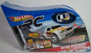 WHEELS RC NITRO SPEEDERS FORD MUSTANG GT REMOTE CONTROL NEW SEALED
