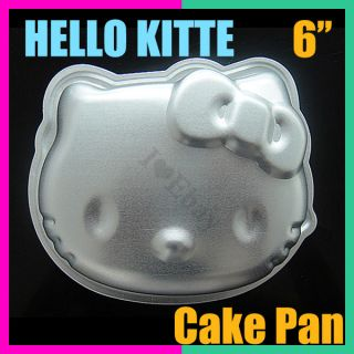 3D Hello Kitty Decorating Fondant Cake Pan Tin Mold Cutter Bakeware