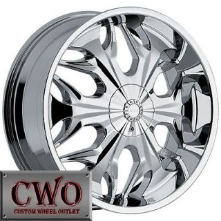 Newly listed 22 Chrome Akuza Reaper Wheels Rim 5x108/5x114.3 5 Lug
