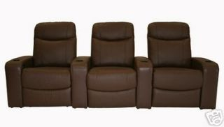 home theater seating recliner movie chairs 3 seats time left