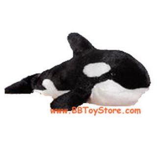 Webkinz Virtual Pet Plush   ORCA WHALE (10 inch)   New w/Unused Code