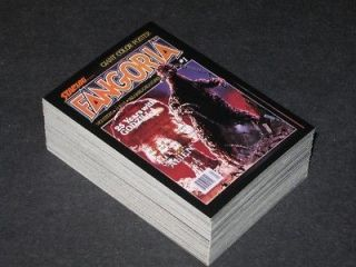 Newly listed ◆FANGORIA   HORROR MOVIE MONSTERS   TRADING CARD SET◆