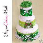 baby shower decoration diaper cake frog pampers
