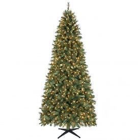 new 7 foot tall pre lit artificial christmas tree canadian