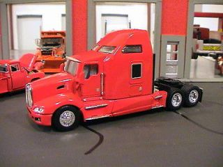 SPECCAST KENWORTH KW T660 SEMI TRUCK CAB   HEIL RED 1/64 WILL FIT DCP