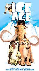 Ice Age (VHS, 2002, Includes Bonus Short Scrats Mising Adventure)