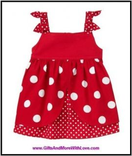 red polka dot dress 7 in Girls Clothing (Sizes 4 & Up)