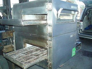 1116 GAS MINT DOUBLE DECK CONVEYOR PIZZA OVEN PIZZERIA STOVE