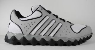 Mens Adidas Mega Softcell RL Training Sneakers New Sale Gray White