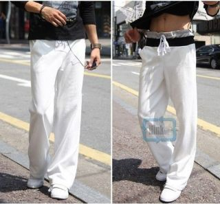 Fashion Mens Casual Cool Jogging Sports Long Trousers Pants Bottoms