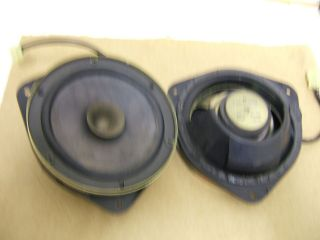 Subaru Impreza 92 2000 pair of original front door speaker & Pods