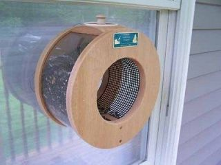 coveside large port hole window bird feeder