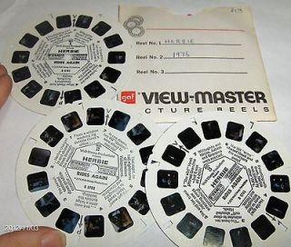 View Master Reels Lot Walt Disney The Love Bug Herbie 1974 View Master