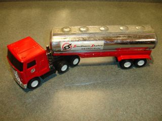 Buddy L Southern States Petroleum Tractor Trailer Toy Made Japan
