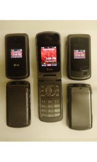 LG VX5500 Verizon Cell Phones Lot Camera + Home Car Chargers