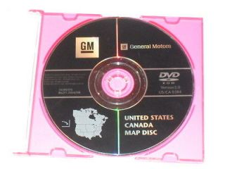 CADILLAC GMC CHEVROLET HUMMER NAVIGATION DVD CD DISC 10390370 DISK GPS