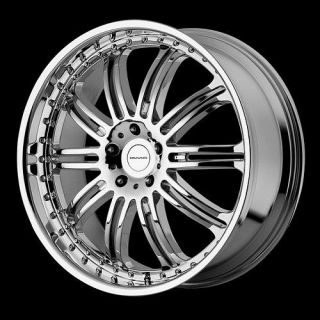 20 inch kmc dime chrome wheels rims 5x115 charger 300c challenger