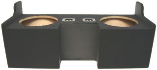 GMC CANYON 04 12 EXT CAB TRUCK DUAL 10 SUBWOOFER BASS SPEAKER SUB BOX