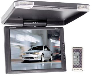 LMR1344 13 LCD TFT FlipdDown Roof Mount Car TV Color Monitor Screen