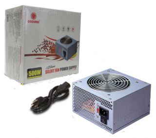 Coolmax V 500 Silent Fan Power Supply w 120mm Fan