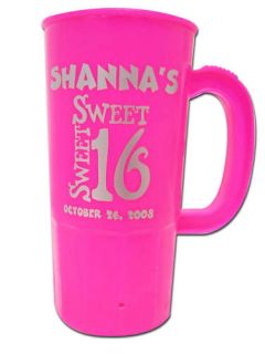 50 Personalized Sweet 16 Sixteen Birthday Party Favors