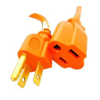 CordExtension   3 Prong   Indoor/Outdoor Heavy Duty Orange   25 Feet