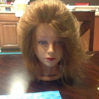 Paul Mitchell Female Human Hair Mannequin Cosmetology Head