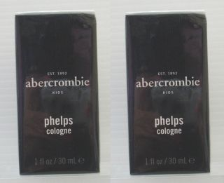 Brand New Abercrombie Fitch Kids Boys Phelps Cologne 1 oz 30 Ml