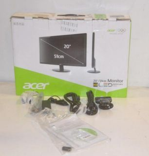 Acer S201HL 20 inch Widescreen LED LCD Monitor