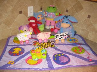 AMAZING BABY ELECTONIC PLAY MAT + LOTS OF OTHER GREAT TOYS LEAP FROG
