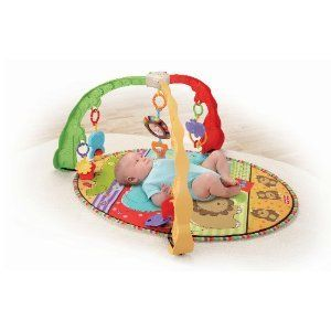 Fisher Price Baby Musical Activity Center Gym Play Mat