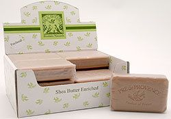 Prede Provence Triplemilled Shea Butter Soap Patchouli